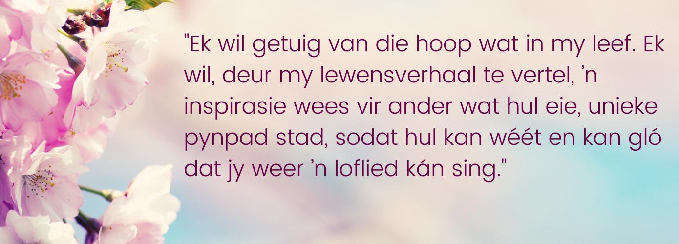 Ek Sal Weer 'n Loflief Sing (4)